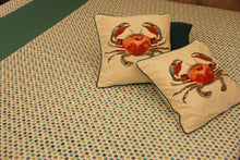 Load image into Gallery viewer, Nautical Turtles Bedcover