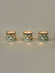 Neptune Tea Light Candle Holders - Set of 4