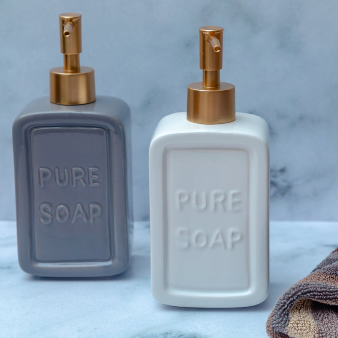 Ceramic Soap Dispenser - the-little-details-home-accents