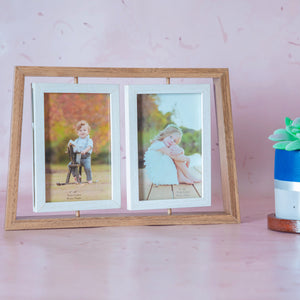Rotating Duo Photo Frame