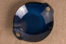 Load image into Gallery viewer, Blue Glazed Platter - the-little-details-home-accents