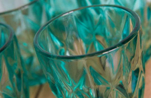 Crystal Look Glasses - Set of 6 - the-little-details-home-accents