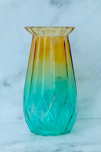 Coloured Glass Vase - the-little-details-home-accents