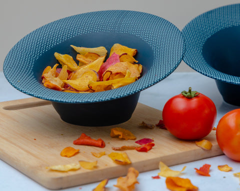 Slanted Snack Bowl
