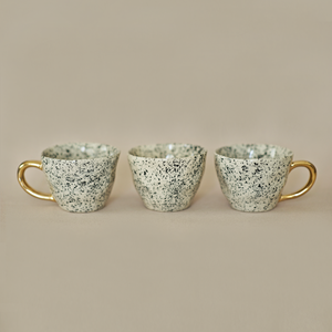 Speckled Tea Cups - Set of 2