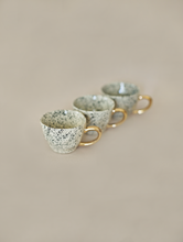 Load image into Gallery viewer, Speckled Tea Cups - Set of 2