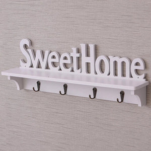Sweet Home Hanging Key Holder - the-little-details-home-accents