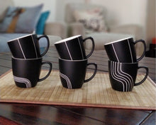 Load image into Gallery viewer, Designer Tea Cups - Set of 6