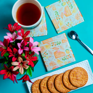 Time For Tea Coasters - Set of 4