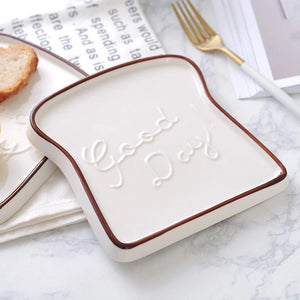 Good Day Toast Plate - the-little-details-home-accents