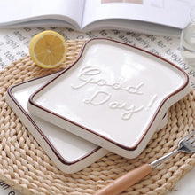 Load image into Gallery viewer, Good Day Toast Plate - the-little-details-home-accents
