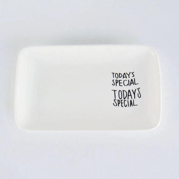 Breakfast Slogan Plates - the-little-details-home-accents