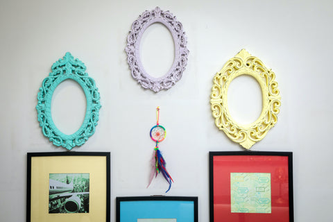 Vintage Decorative Wall Frames - Oval