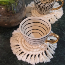 Load image into Gallery viewer, Macrame Coasters - Set of 4