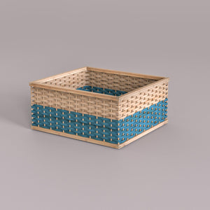 Stackable Bamboo Baskets