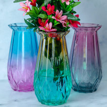 Load image into Gallery viewer, Coloured Glass Vase - the-little-details-home-accents