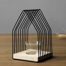 Load image into Gallery viewer, Metal House Candle Votive - the-little-details-home-accents