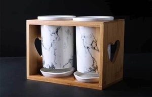 Marbled Cutlery Stand - the-little-details-home-accents