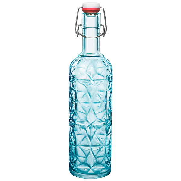 Jewelled Glass Water Bottle - the-little-details-home-accents