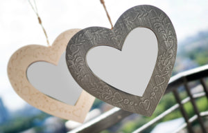 Wooden Heart Mirror - the-little-details-home-accents