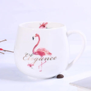 Flamingo Elegance Mug - the-little-details-home-accents