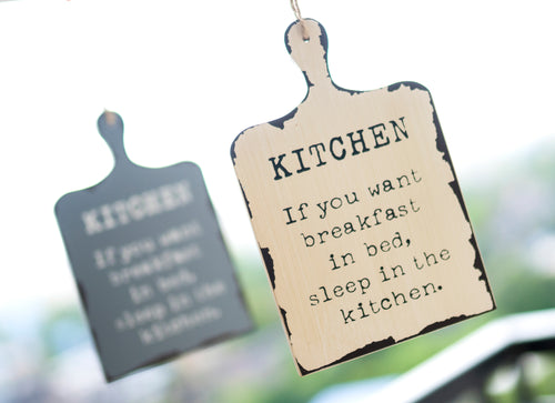 Kitchen Quote Wall Hanging - the-little-details-home-accents