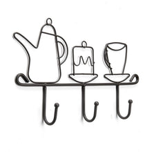 Load image into Gallery viewer, Tea Time Wall Hooks - the-little-details-home-accents