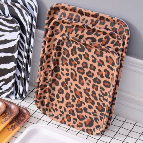 Leopard Print Tray - the-little-details-home-accents