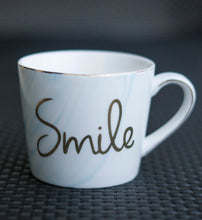 Load image into Gallery viewer, Smile Marbled Mug - the-little-details-home-accents