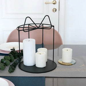 Bow Tie Metal Stand - the-little-details-home-accents