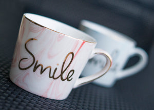 Smile Marbled Mug - the-little-details-home-accents