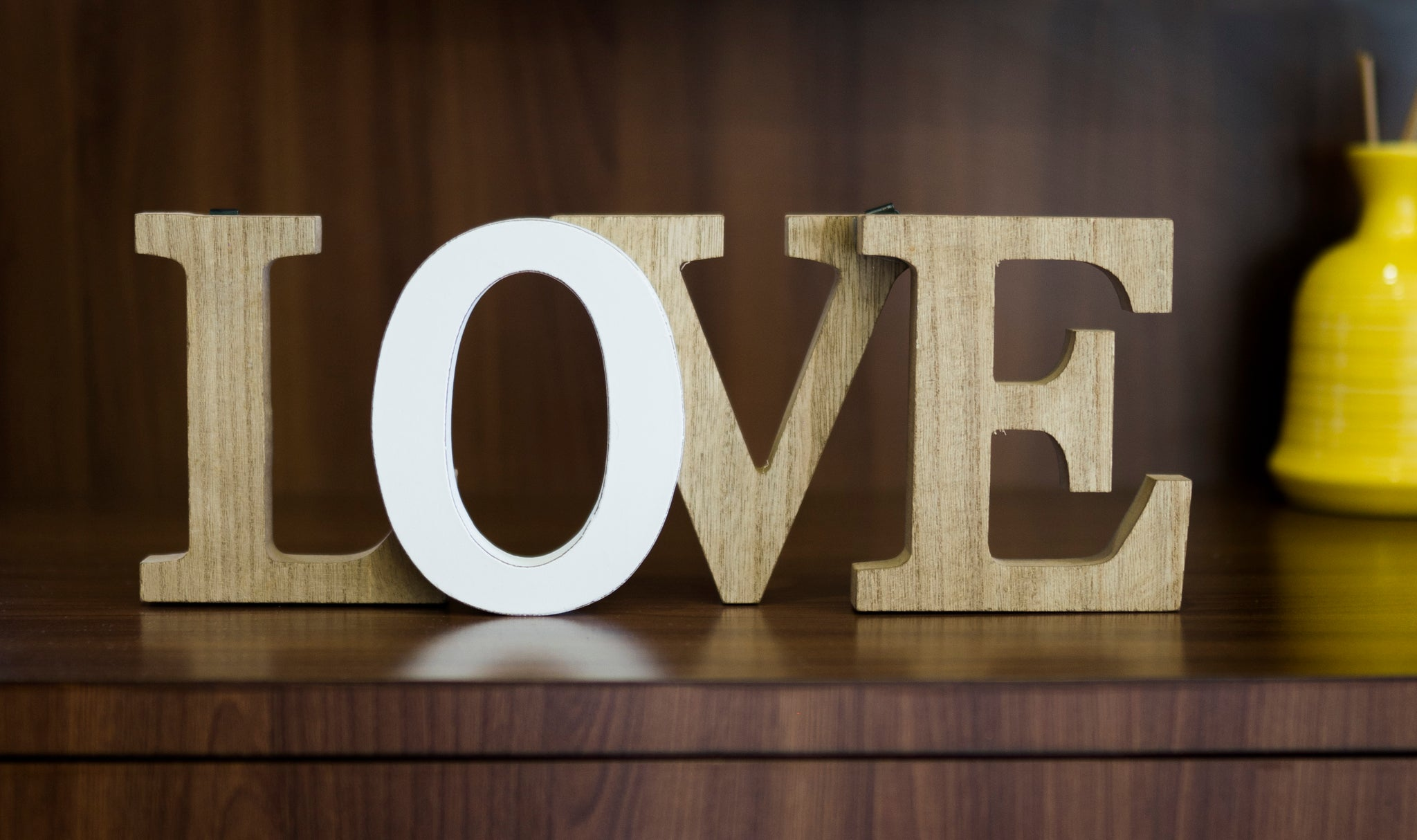 Wooden LOVE Wall Hanging - the-little-details-home-accents