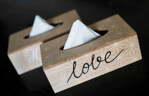 Wooden Tissue Box Holder - the-little-details-home-accents