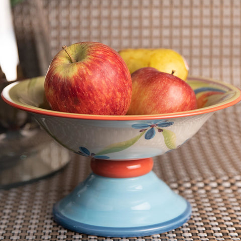 Ceramic Fruit Bowl Stand - the-little-details-home-accents