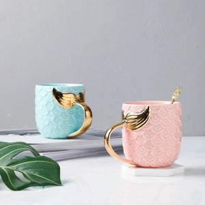 Mermaid Mug - the-little-details-home-accents