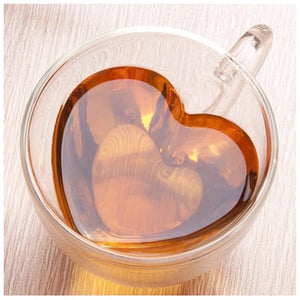 Heart Glass Mug - the-little-details-home-accents