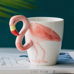 3D Flamingo Mug - the-little-details-home-accents
