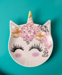 Unicorn Trinket Tray - the-little-details-home-accents