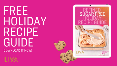 refined sugar free holiday recipe book