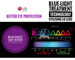 Eye Caring LED Desk Lamp With 5 Level Dimmer and Color Touch Control