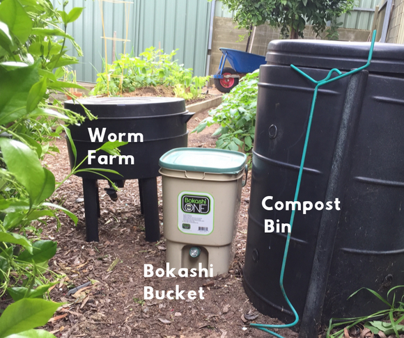How to compost at home with these three super easy systems!