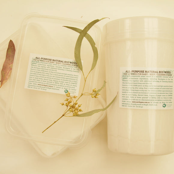 REFILL Multi Purpose Natural Wipes