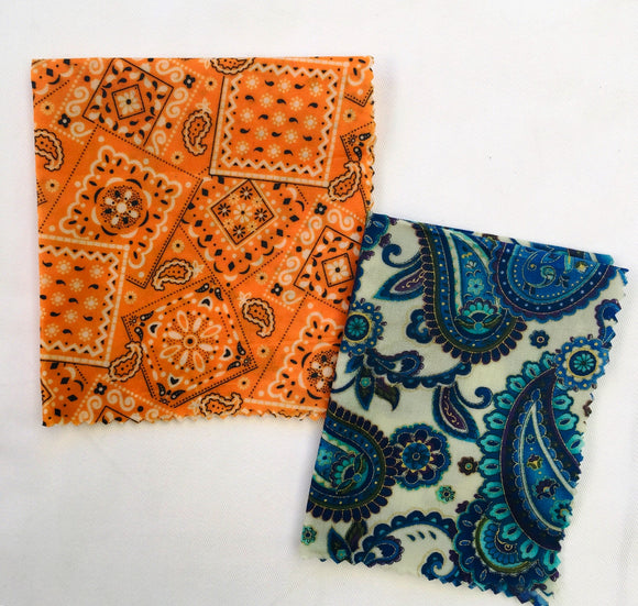 Small / Medium - Beeswax Food Wraps