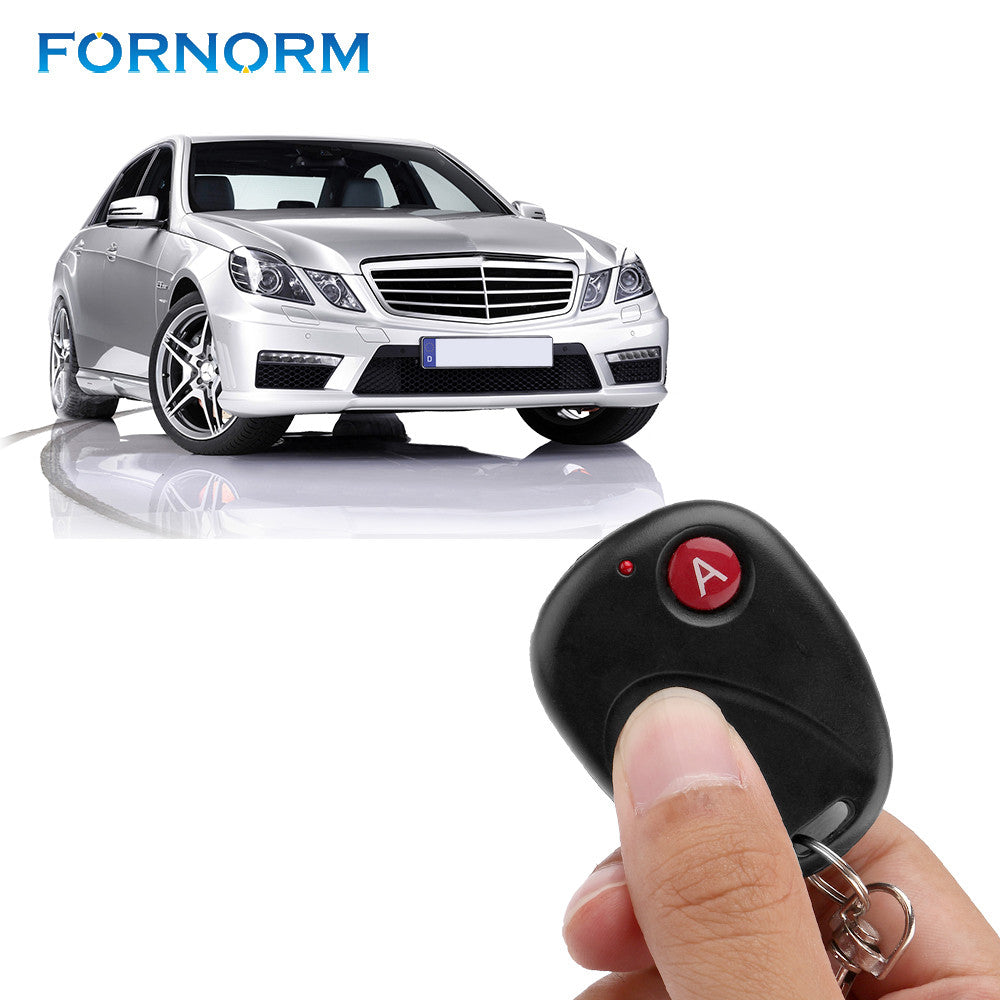 FORNORM DC12V Wireless Remote Control Switch Transmitter Garage Door Opener vehicle central locking systems garage doors