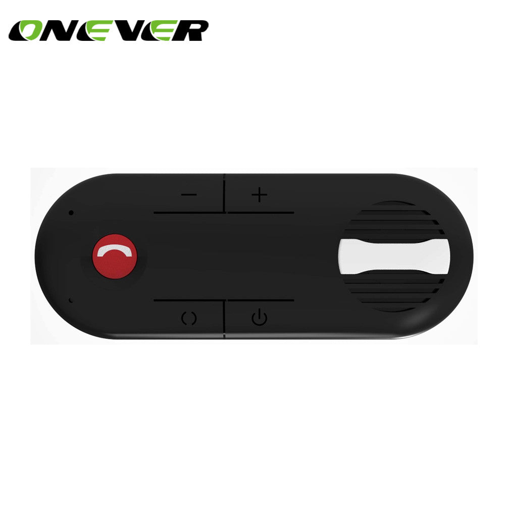 Onever Wireless Magnetic Car Bluetooth Speakerphone Hands-free Car Kit Sunvisor In-Car Speaker Player