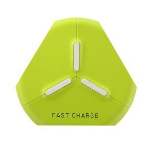 Fast Wireless Charger Qi Wireless Charging Pad for Samsung Galaxy S6 /S6 Edge, Google Nexus 6 /5 /4, HUAWEI W3, Apple iPhone 8 /X and Other Devices