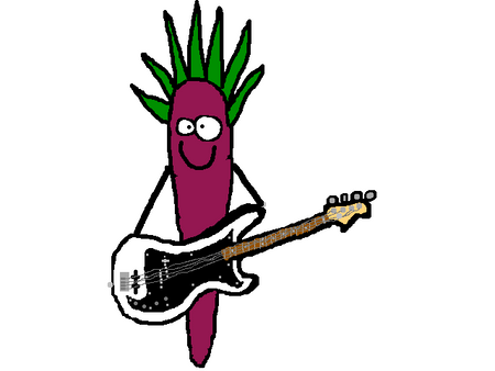 Punk Rock Carrot