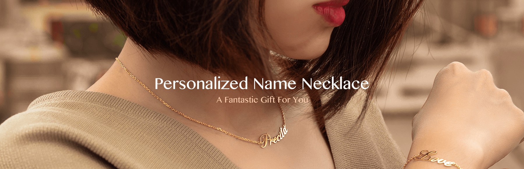 69f2c25ad0fc5 Name Necklace Official | Name Necklace, Custom Name Necklace