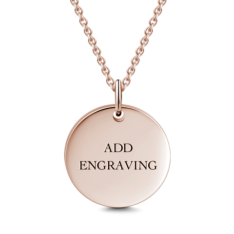 4b19d1a0b Engravable Pendant Necklaces, Name Necklace - Free Shipping ...