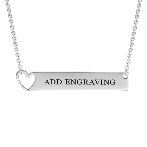 2ddc825e2b786 Bar Necklace - Free Shipping | Name Necklace Official
